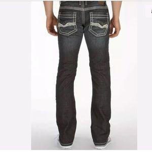 BKE Short Aaron Denim Jeans Slim Straight Leg
